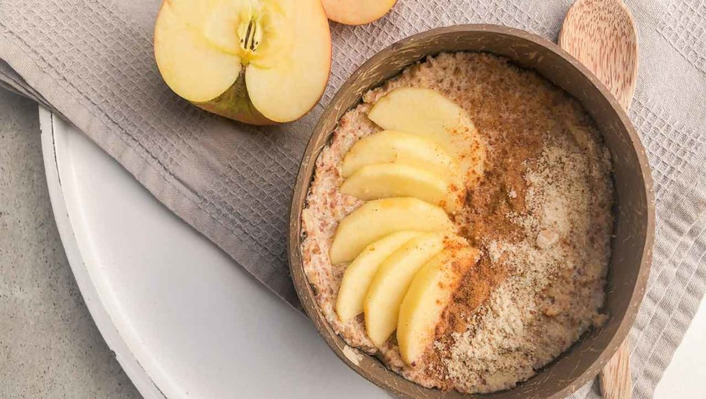 Apfel Zimt Porridge Rezept