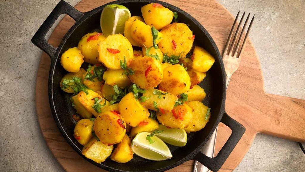orientalische Kartoffelpfanne Rezept